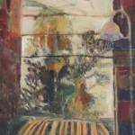 Striped chair II, 610x760,$500