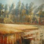 River Scene II, 2009, Not for sale