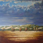 Evening cloud, 2008, Sold