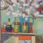 Fausses Fleurs, 610x760, Oil on Canvas, $500