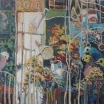 Open Window, 760x760, Oil on Canvas, $600